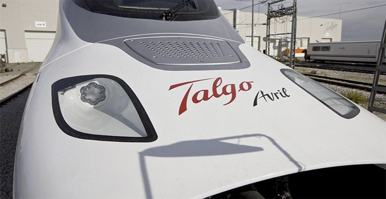 Talgo's high speed train