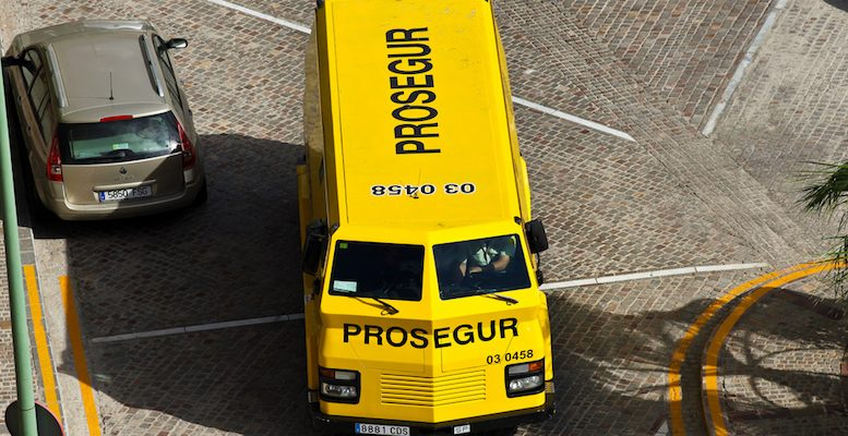Prosegur security van