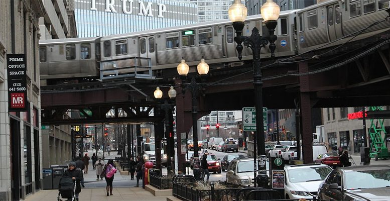 chinese train maker works on Chicago trains