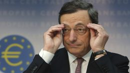 Mario Draghi comments on EU economy
