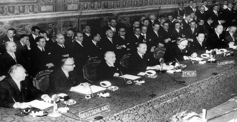treaty of rome Saturday marked the 60th anniversary of the signing of the treaty of rome: on this  occasion, the 27 national leaders gathered in the.