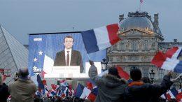 Macron's popularity