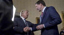 firing of FBI's director James Comey