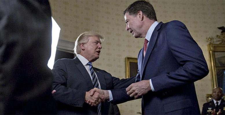 firing of FBI's director James Comey