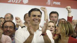 Pedro Sánchez victory