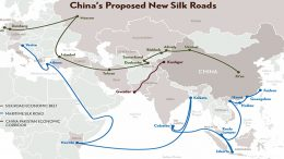new china's silk road
