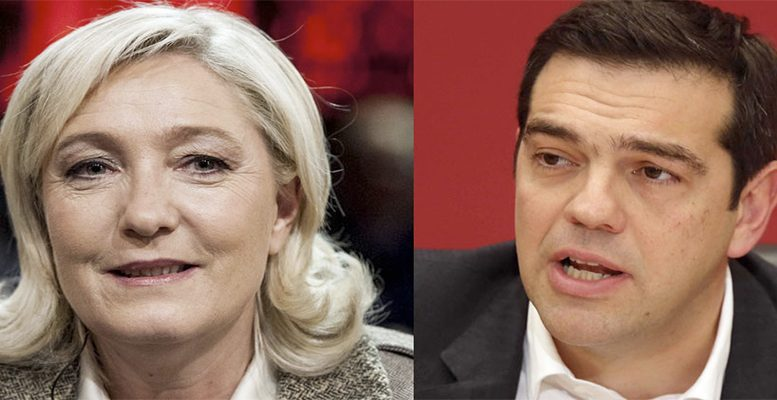 Could Le Pen give into pressure from EU?inside and outside Europe to renounce her goal of getting rid of the euro?