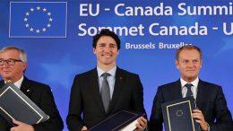 the EU and Canada sign CETA