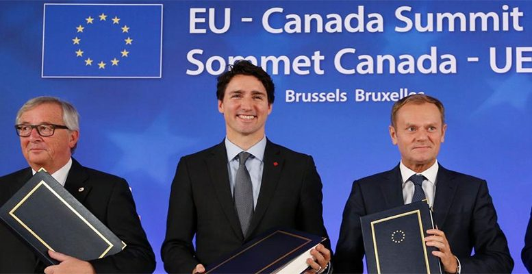the EU and Canada sign CETA