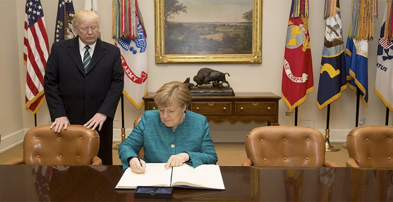 Trump right about German trade