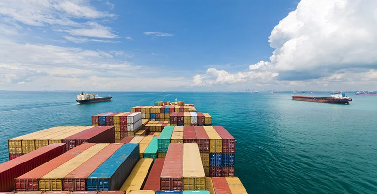 The effects of world trade tensions remain in the future
