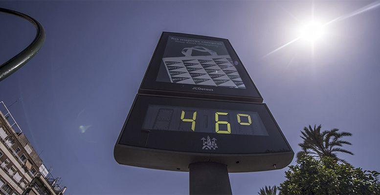Spain heatwave