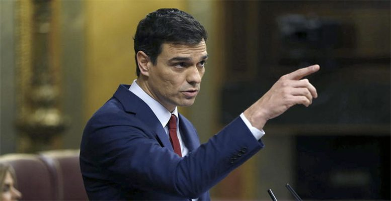 Spanish socialist leader Pedro Sánchez's agenda