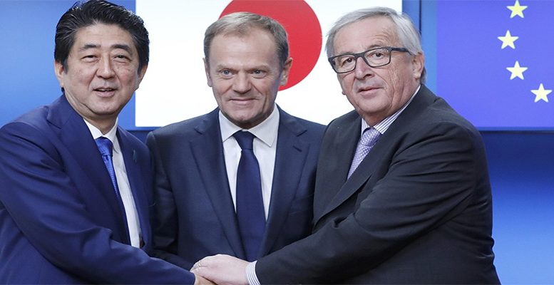 Eu Political Agreement On Eu Japan Trade Deal Sealed