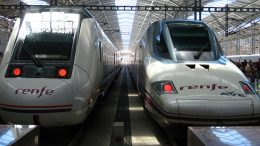 High speed AVE trains