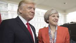 President Trump and PM May