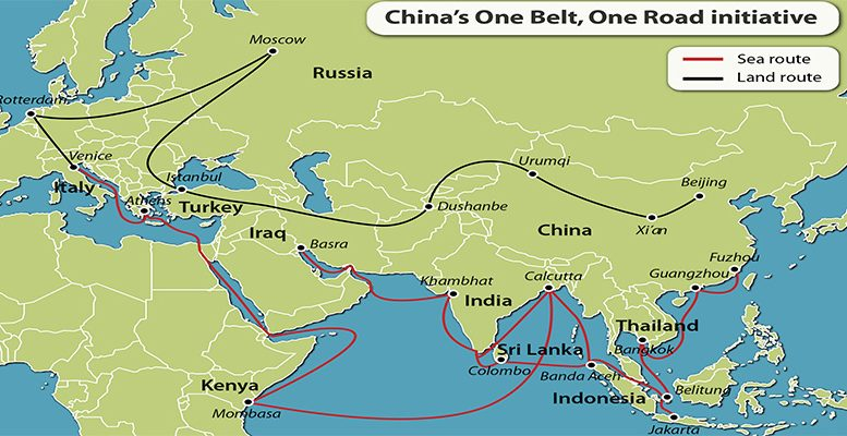 Financial challenges in 'Belt and Road