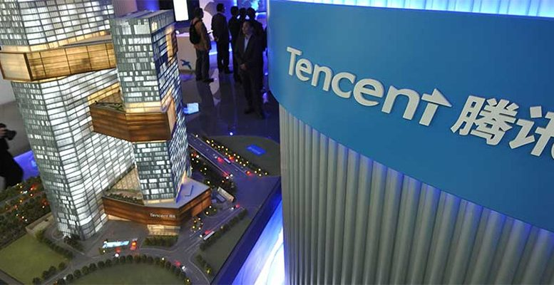 It is all about tencent in China