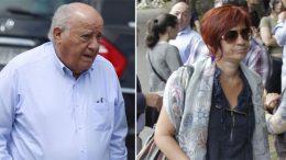 Amancio Ortega, his daughter Sandra and Juan Roig (Mercadona), the three largest fortunes in Spain