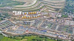 Acciona's sewage water treatment plant in Atatonilco (Mexico)