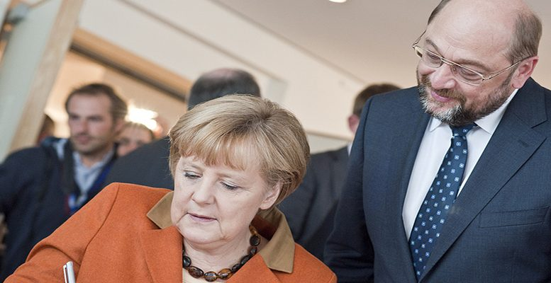 Schulz Abruptly Drops Bid to Be Merkel's Next Foreign Minister