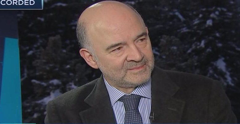 "Moscovici suggests the isolationist tendencies in Trump's ""America First"" to be countered by ""European way"