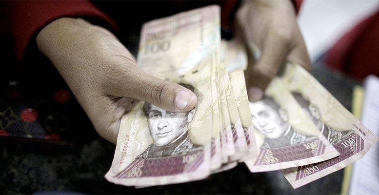 In Venezuela bank notes have become scarce and have been rounded up