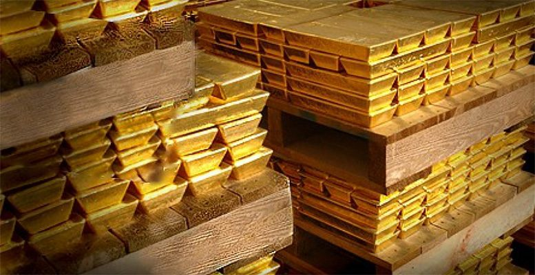 THE INFLATONARY SUPPLY OF UNBACKED US DOLLARS AND THE PRICE OF GOLD