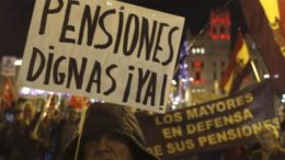 Spain's pensioners are on the brink of war
