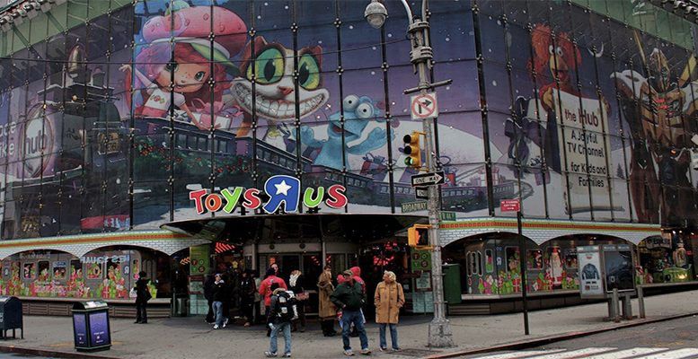 "The mythical chain of Toy stores Toys ""R"" Us is closing"
