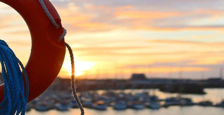 life belt rescue beach coast safety security help