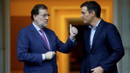 The debt of Rajoy and Sanchez