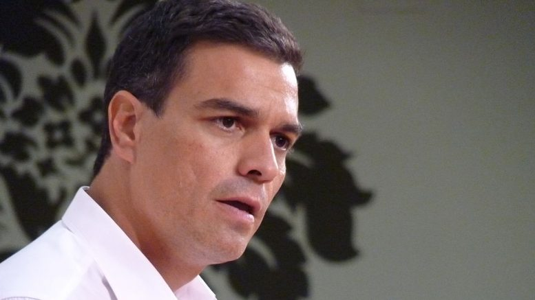 Pedro Sánchez en Mérida