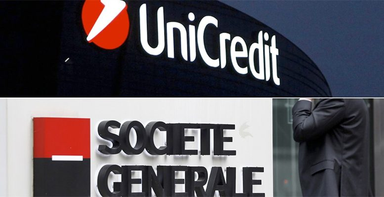Unicredit and Societe Generale have been studying their merger for months.