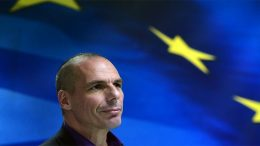 Former Greek finance minister Yanis Varoufakis at the Ifo Institute