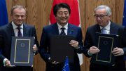 The EU-Japan trade deal will create an open trade zone covering over 600 million people