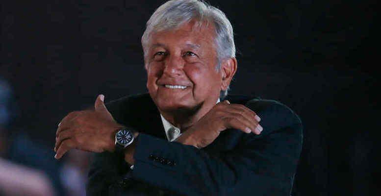 López Obrador won 53 percent of the vote