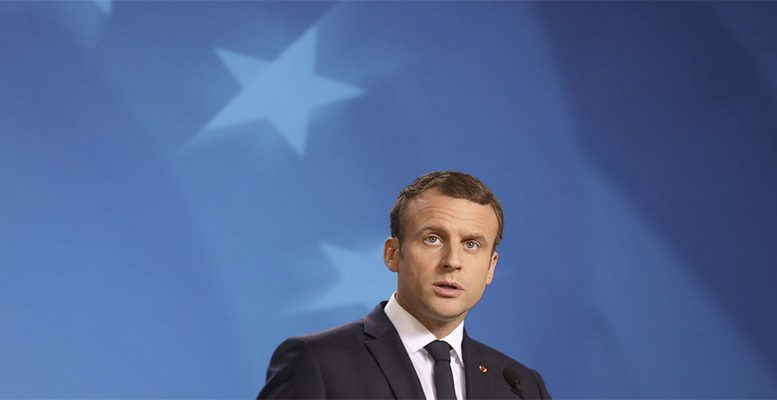 President Macron proposes single EU defence plans