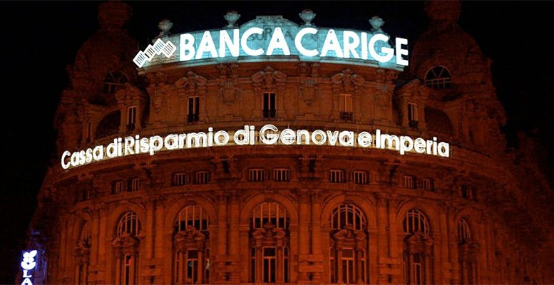 The ECB intervened in the Italian Banca Carige, as expected