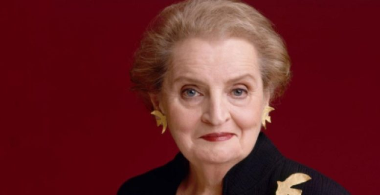 "Madeleine Albright: ""How much will Northern Europe pay to the South?"""