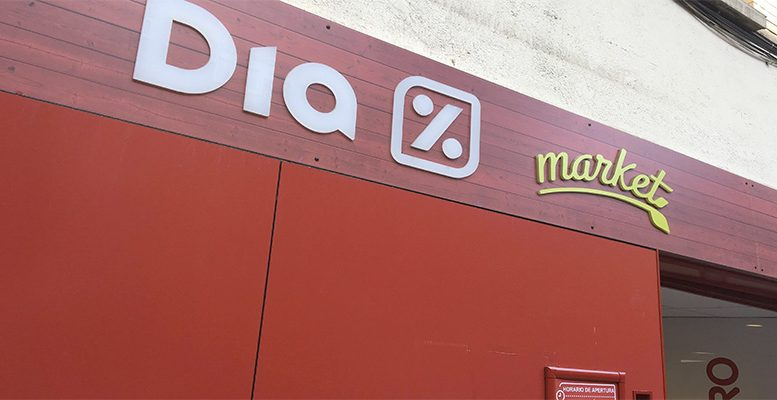 The supermarket chain DIA falling apart
