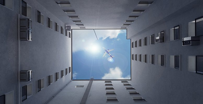 High Flying Perspective