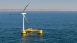 "ACS will invest 450 M in building in Scotland the largest ""floating"" maritime wind farm in the world"