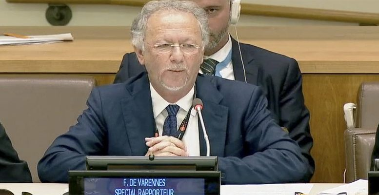 UN minorities rapporteur: A scrutiny which deserves to be scrutinised
