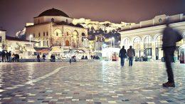 1920 Large Monastiraki square