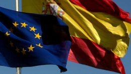 spanish and european flag TC