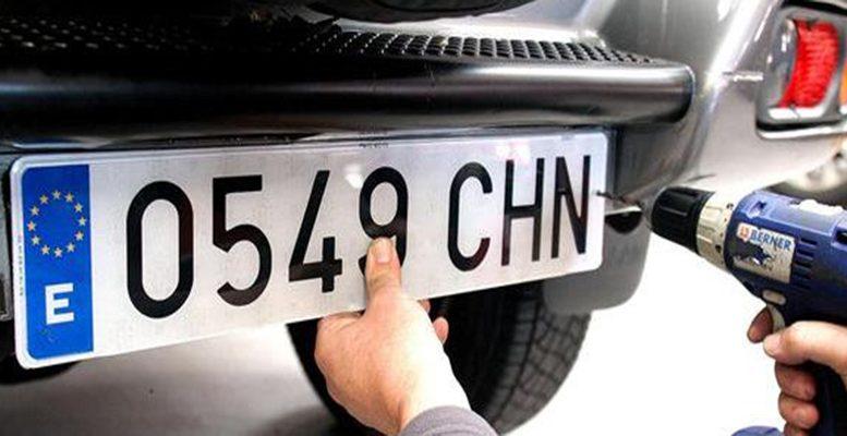 vehicle re registration spain