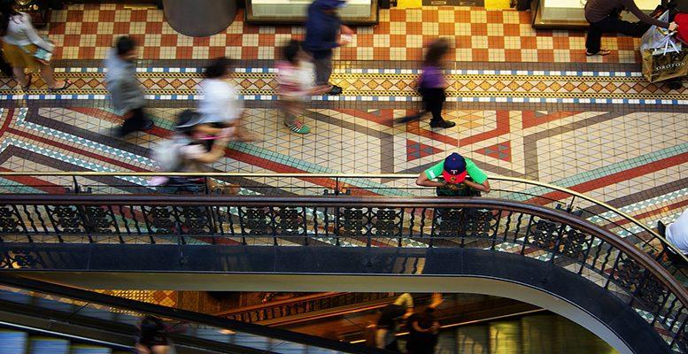 US mall