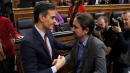 The agreement on the minimum wage and the relative success of the trip to Catalonia encourages the new government