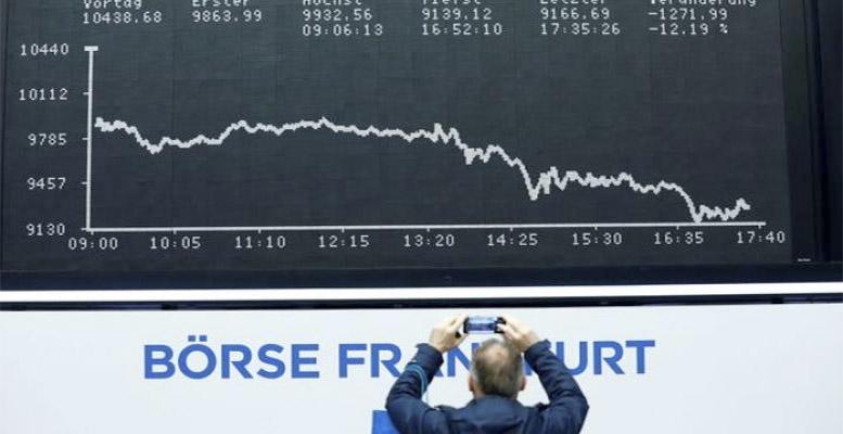 stock markets great fall